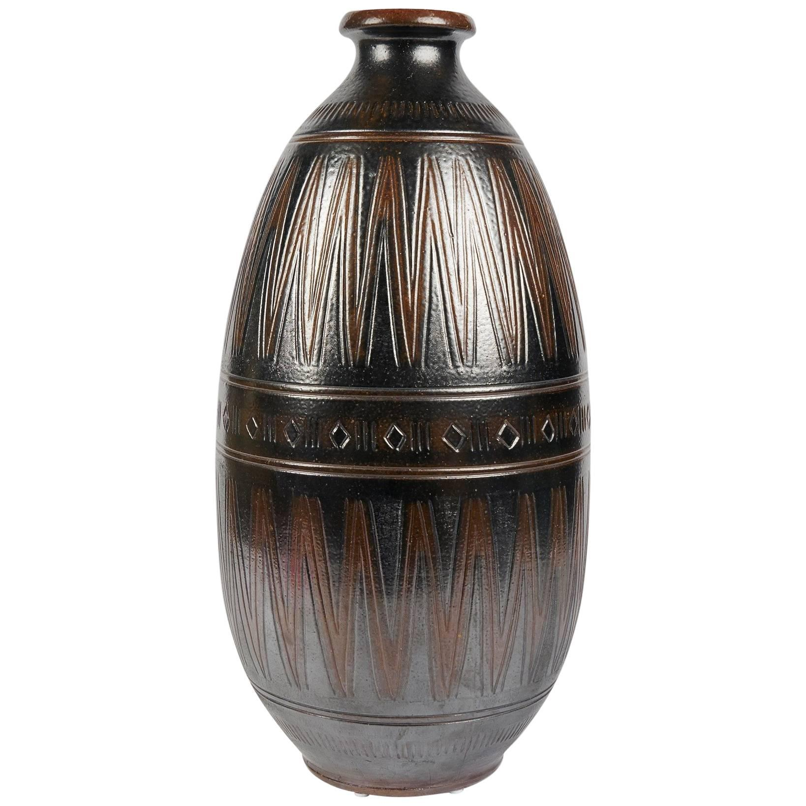 Arthur Andersson, Large Vase, Sweden, circa 1950s