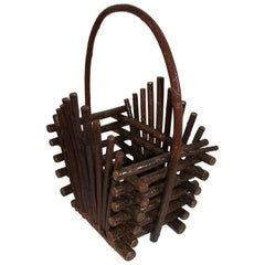 Willow Twig Magazine Rack