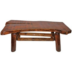 Rustic Coffee Table or Bench from Midwest