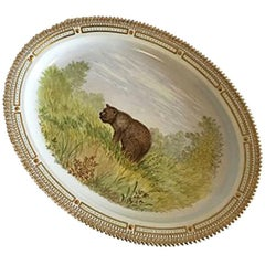 Royal Copenhagen Flora Danica Animal Large Serving Tray #239/3520