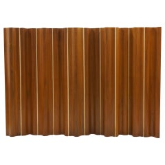 Rare Ten-Panel Eames Folding Screen FSW-10 in Teak for Herman Miller