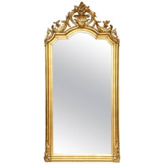 Superb French, 19th Century Giltwood Mirror