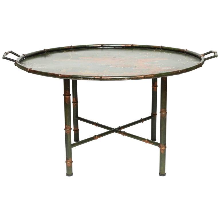 Italian Tole Tray Table