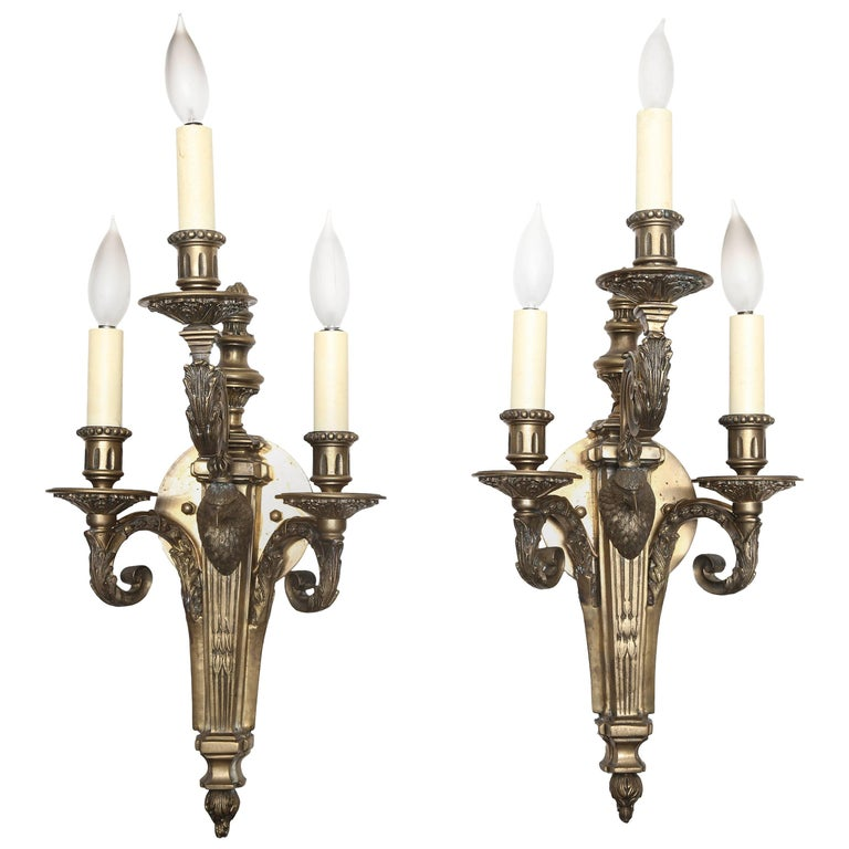 Superb Pair Of Russian Empire Style Sconces