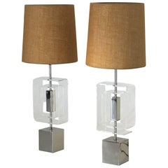 Exquisite Pair of Table Lamps by Laurel