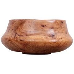 Große Gedrechselte Schale aus Ulmenholz vom Holzarbeiter Eckart Mohlenbeck