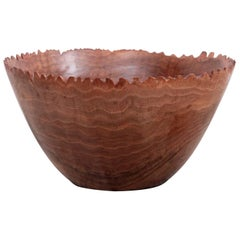 Huge Turned Wood Bowl by Woodworker Eckart Mohlenbeck