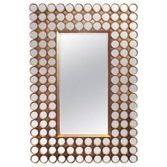 Mirror 144 Facets Matte Gilded