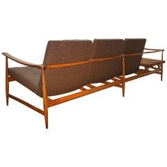 Liceu de Artes e Ofícios Three Seats Sofa with Magazine Holder