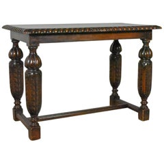 Antique Side or Coffee Table, Edwardian, Jacobean Revival, English, circa 1910