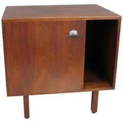 Midcentury Jens Risom Walnut Cabinet