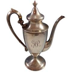 Buckingham by Shreve Sterling Silver Coffee Pot