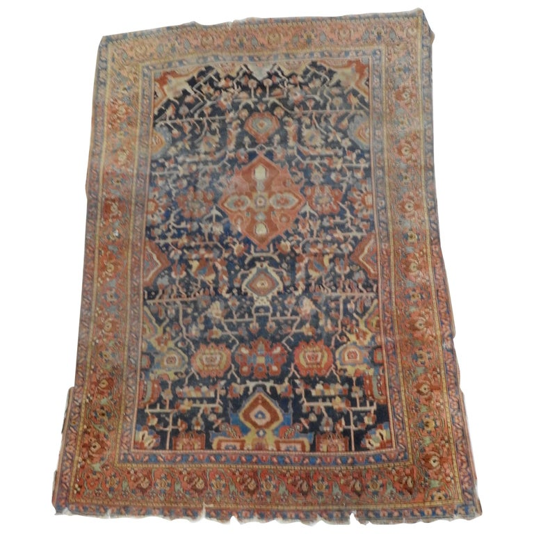 19th Century Handwoven Northwest Persian Area Rug