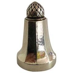 Georg Jensen Acorn Sterling Silver Pepper Shaker No 423B