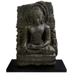 Buddha Stele. Nalanda/Nepal, 9th - 10th Century