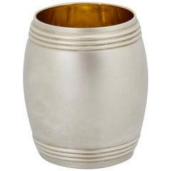 Modern Sterling Silver Bourbon Cup