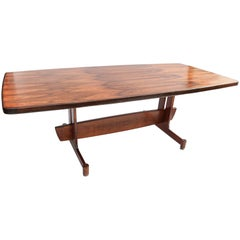 1960s Brazilian Jacaranda Dining Table