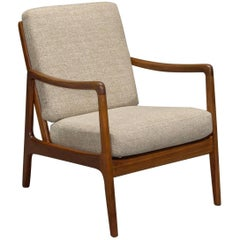 Danish Modern Teak Armchair by Ole Wanscher for France & Son