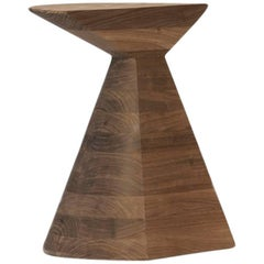 'Ban' Stool in Walnut Hardwood, Small