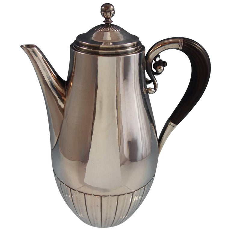 Cosmos by Georg Jensen Sterling Silver Coffee Pot #45B Hollowware