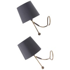 Pair of Table or Wall Lamps by Le Klint