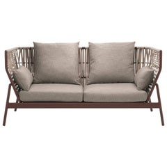 Roda Indoor or Outdoor Piper 102 Sofa Designed by Rodolfo Dordoni