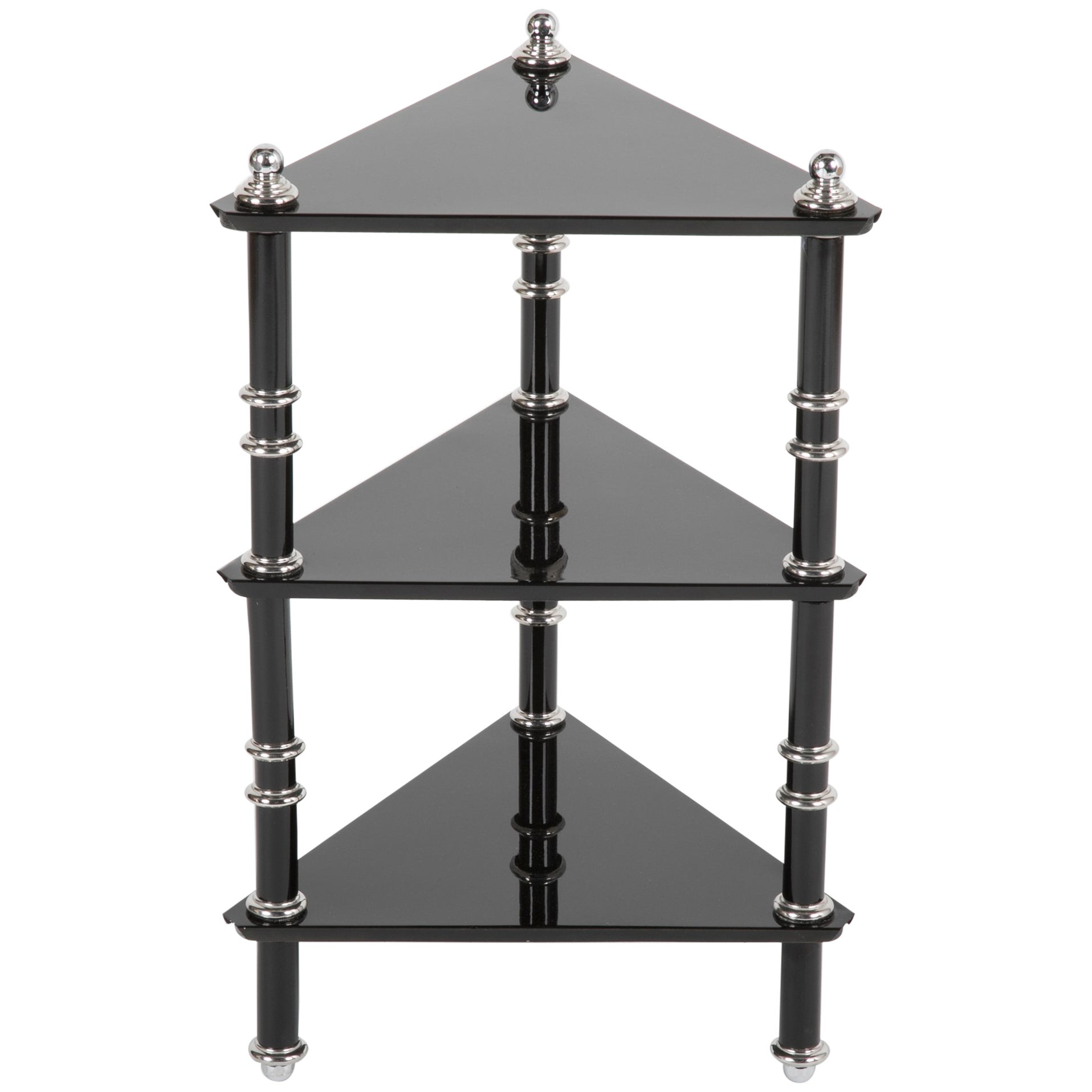 Rare Transitional Side Table/Etagere  by Warren McArthur