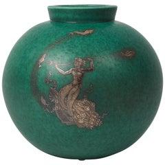 Wilhelm Kåge 'The Argenta Series' Vase, Sweden, circa 1930s