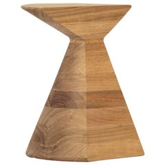 Ban Contemporary Stool in Tzalam Mexican Wood