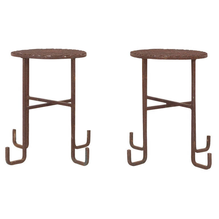 Set of Chinoiserie Side Tables