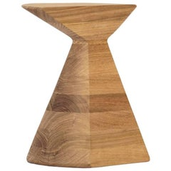'Ban' Stool in Tzalam Wood, Contemporary Mexican Design
