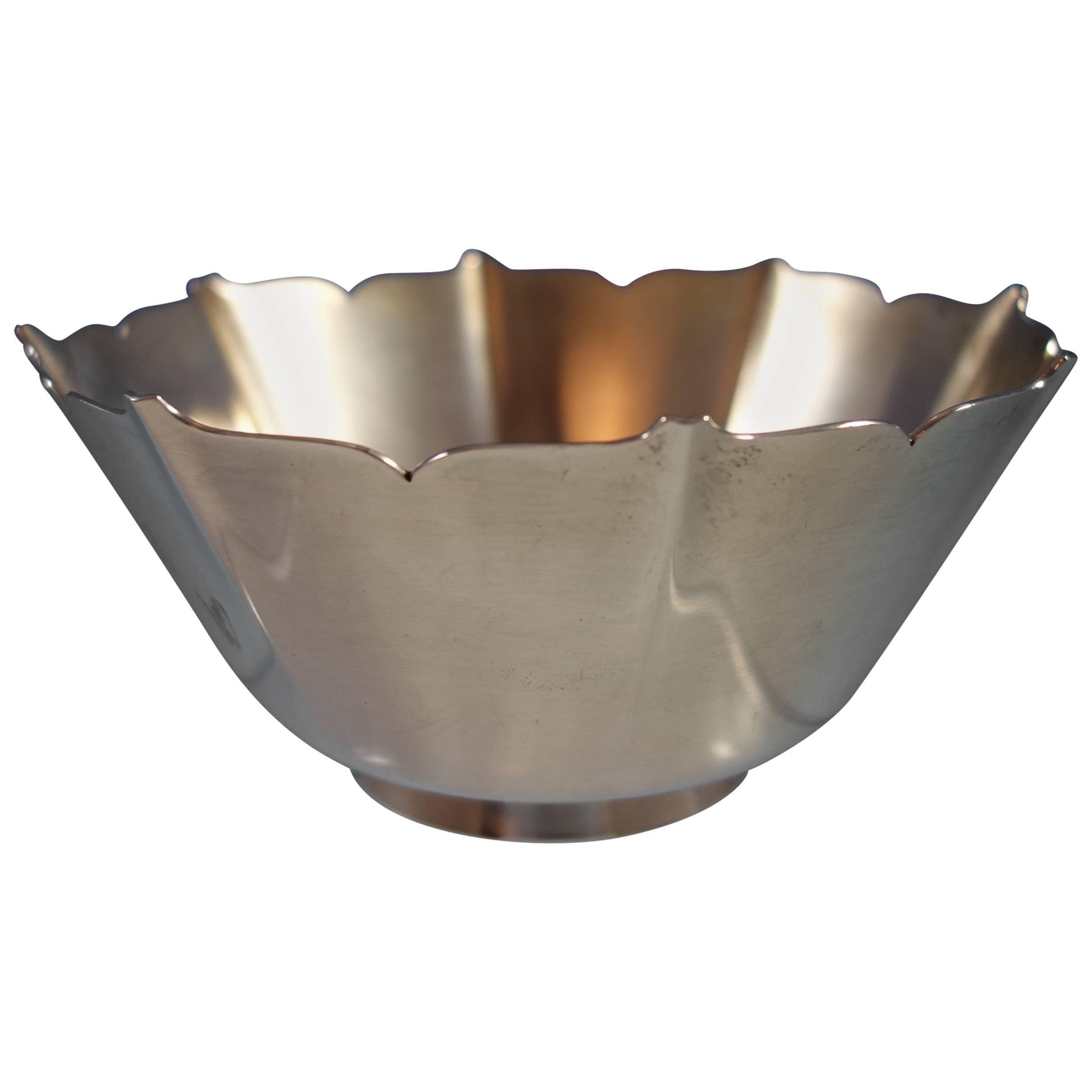 Esprit by Gorham Sterling Silver Bowl #1429 Hollowware SKU #2014