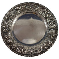 Baltimore Rose by Schofield Sterling Silver Bread and Butter Plate