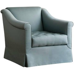 Contemporary Grand Sablon Lounge Chair, Custom and Made to Order by Dmitriy & Co