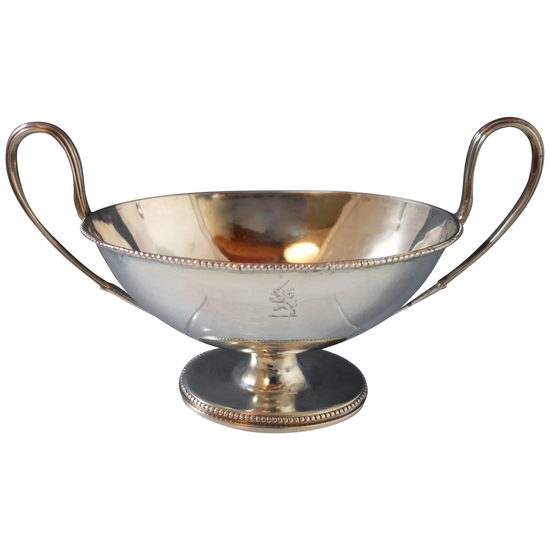 Robert Hennell I English Sterling Silver Gravy Boat, circa 1780, Hollowware