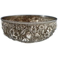 Repousse by Jenkins & Jenkins Sterling Silver Fruit Bowl #188 Hollowware