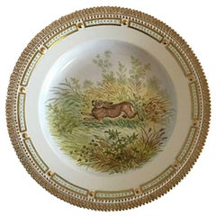 Royal Copenhagen Flora Danica Animal Dinner Plate #239/3549
