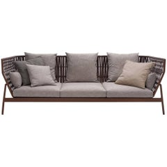 Roda Indoor or Outdoor Piper 103 Sofa Designed by Rodolfo Dordoni