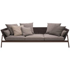 Roda Indoor or Outdoor Piper 103 Low Sofa Designed by Rodolfo Dordoni