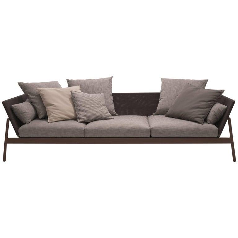 Roda Indoor or Outdoor Piper 103 Low Sofa Designed by Rodolfo Dordoni