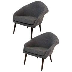 1960s Danish Modern Easy Chairs