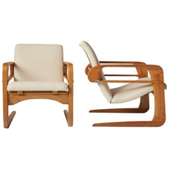 "Pair of KEM Weber ""Airline"" Chairs"