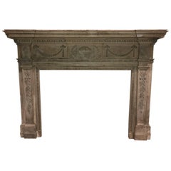 Stunning Federal Revival Fireplace Mantle