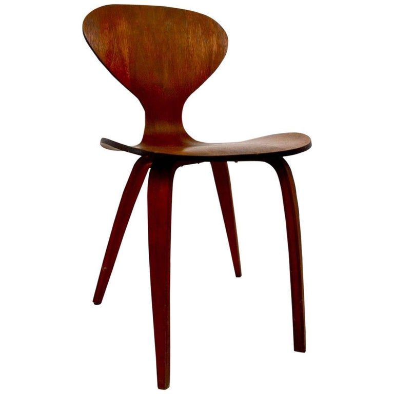 Side Chair by Cherner for Plycraft For Sale
