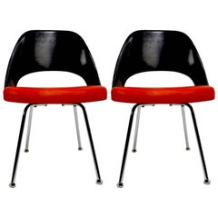 Pair of Saarinen Executive Chairs for IBM