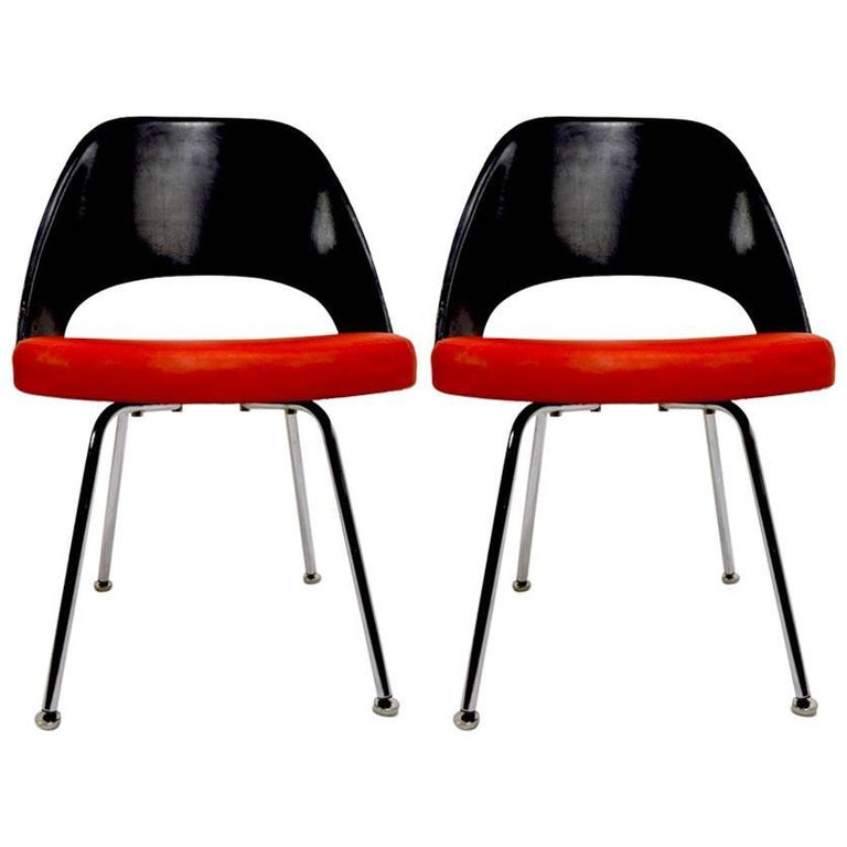 Pair of Saarinen Executive Chairs for IBM 1
