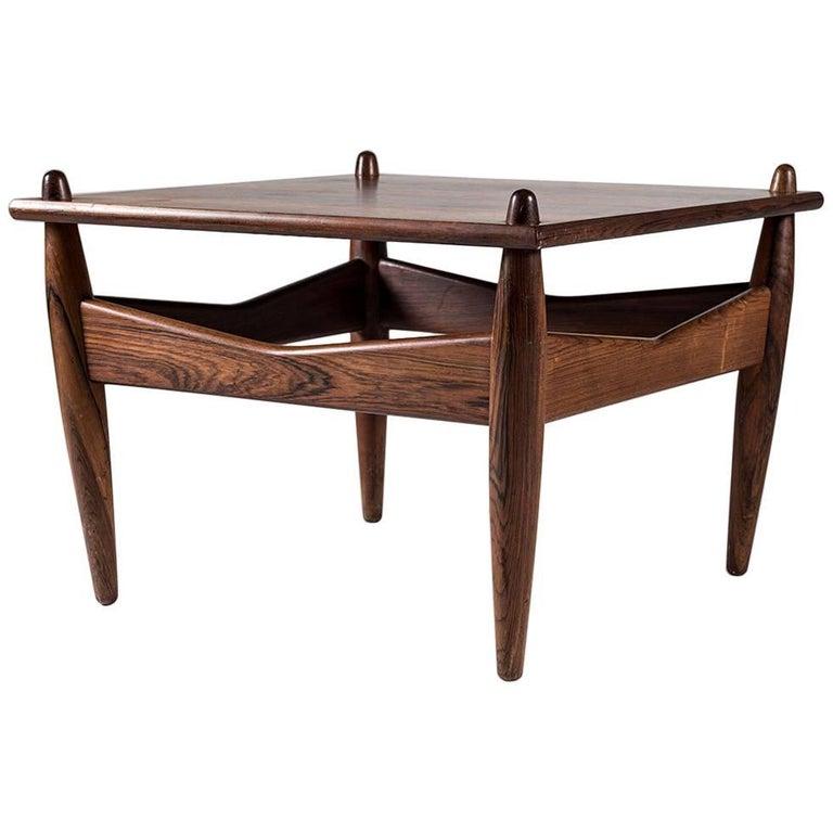 Scandinavian Side Table Model 272 Designed by Illum Wikkelsø
