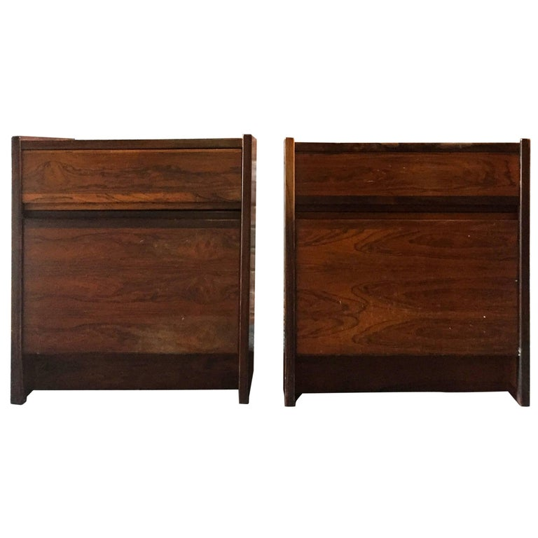 Pair of Rosewood End Tables