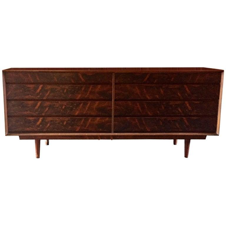 Danish Modern Rosewood Double Dresser