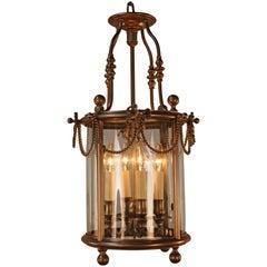 Early 20th Century French Bronze Lantern